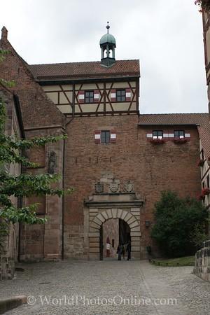 Nuremberg - Imperial Castle - Main Keep Entrance
