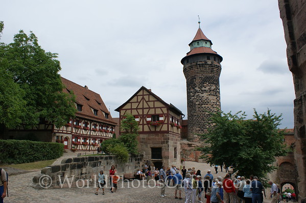 Nuremberg - Imperial Castle - Outer Courtyard