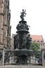Nuremberg - St  Lorenz (medieval) Church - Fountain