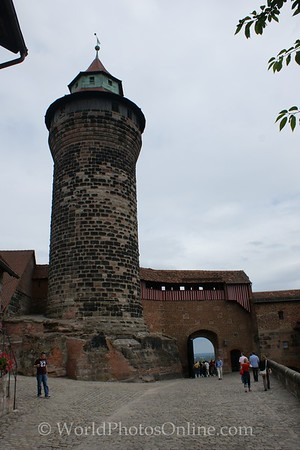 Nuremberg - Imperial Castle - Freiung & Sinwell Tower 1