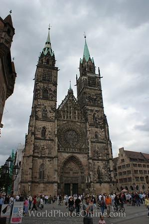Nuremberg - St  Lorenz (medieval) Church