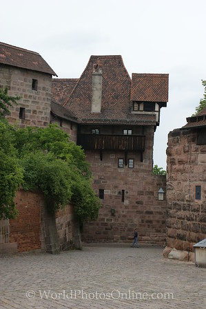 Nuremberg - Imperial Castle - Vestner Gate Bastion