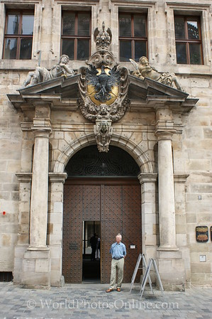 Nuremberg - Old Town Hall - Door 2