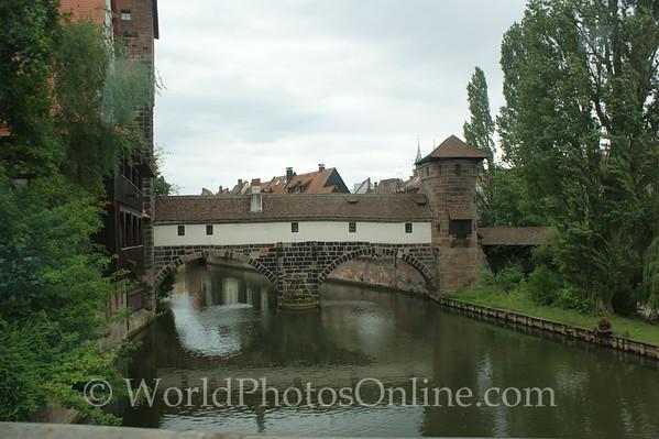 Nuremberg - Hangman's Tower & Bridge