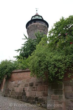 Nuremberg - Imperial Castle - Sinwell Tower 2
