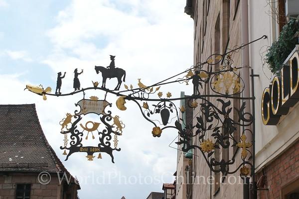 Nuremberg - Shop Sign