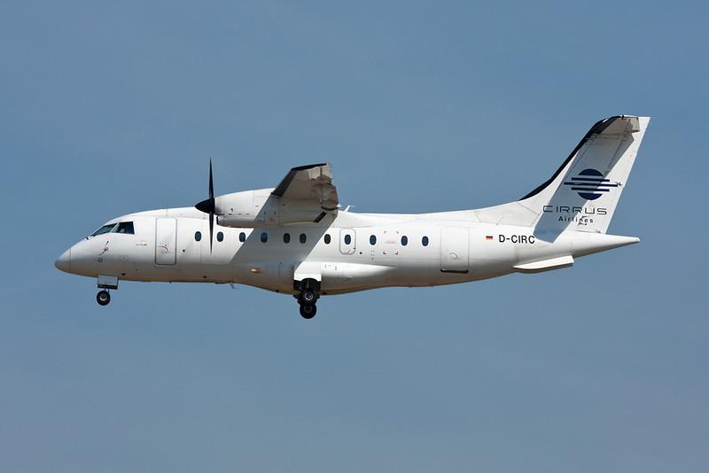 """D-CIRC Dornier Do.328-110 """"Cirrus Air"""" c/n 3041 Frankfurt/EDDF/FRA 01-07-10"""