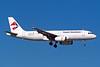 """D-ALAR Airbus A320-232 """"Ryan International Airlines"""" c/n 1459 Las Vegas/KLAS/LAS 11-03-04 """"Funjet Vacations"""" (35mm slide)"""