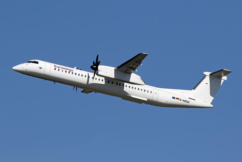 "D-ABQC de Havilland Canada DHC-8Q-402 ""LGW"" c/n 4231 Dusseldorf/EDDL/DUS 06-04-18 """"Eurowings"""