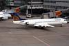 """D-AFKC Fokker 100 """"Contact Air"""" c/n 11496 Dusseldorf/EDDL/DUS 25-02-10"""