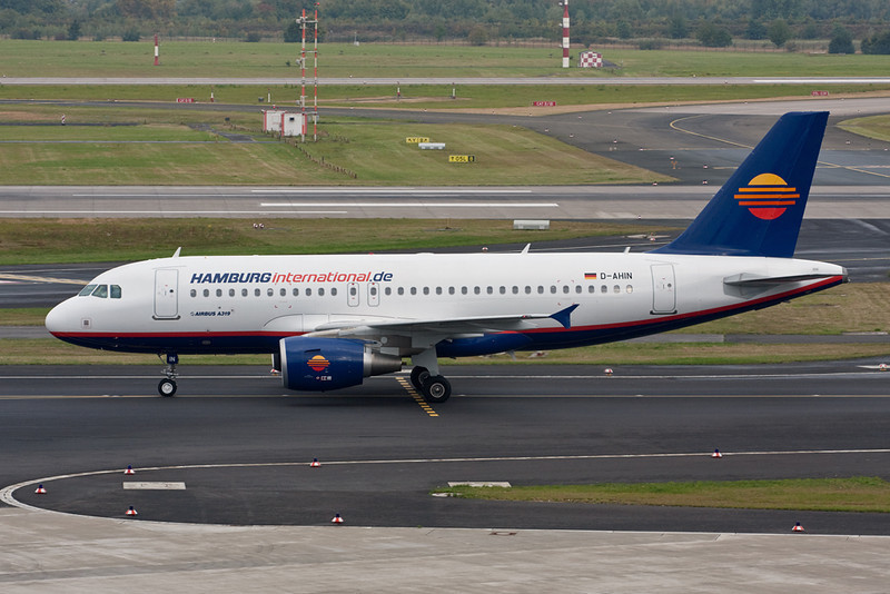 "D-AHIN Airbus A319-111 ""Hamburg International"" c/n 3853 Dusseldorf/EDDL/DUS 14-09-09"