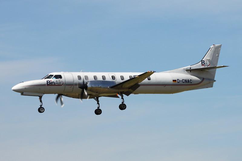 "D-CNAC Swearingen SA.227DC Metro 23 ""Bin Air"" c/n DC-895B Paris-Le Bourget/LFPB/LBG 10-07-16"