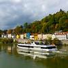 Passau, Germany, View of Scenic Cruise ship on Danube