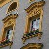 Germany, Passau,  Ornate Windows