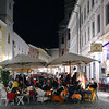 Germany, Passau, Coffee Crowd, Early Evening