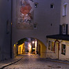 Germany, Passau, Night View of Old Town