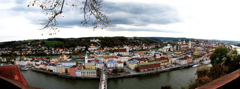 Germany, Passau, City Panorama