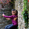 Germany, Passau, Romantic Selfie in 12th Century Fortress