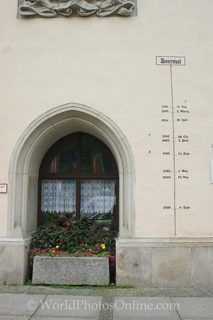 Passau - Town Hall - Water Marks
