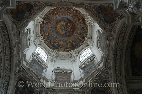 Passau - St Stephan's Cathedral - Dome