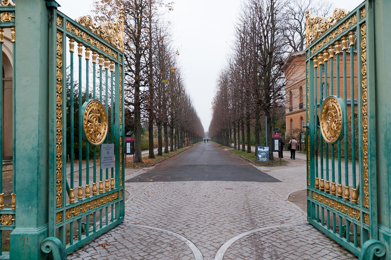 Gate at the Sanssouci Park in Potsdam, Germany