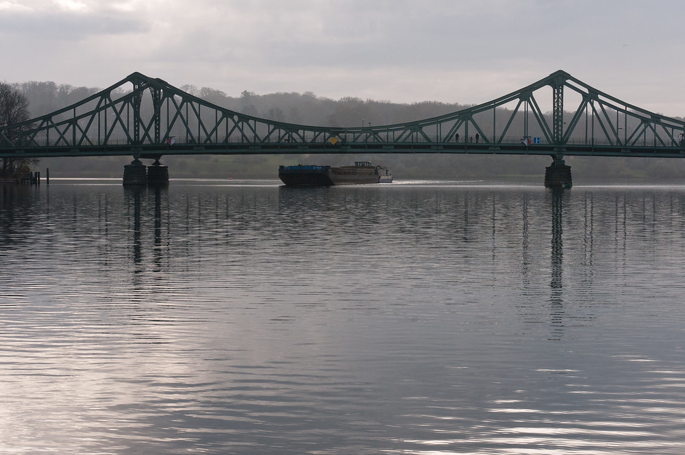 Glienicke Bridge in Potsdam, Germany