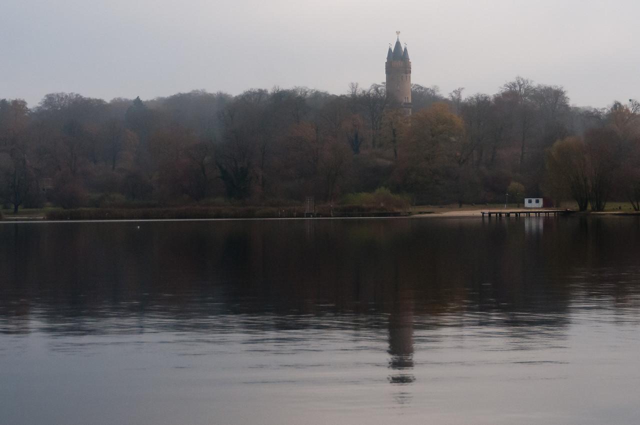 Lake Schwielowsee in Potsdam, Germany
