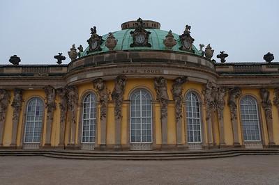 Sanssouci Palace in Park Sanssouci in Potsdam, Germany