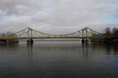 The Glienicke Bridge in Potsdam, Germany