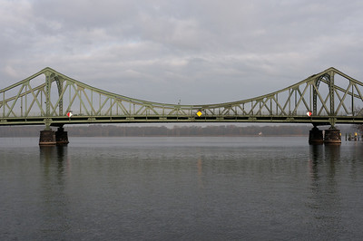 Glienicke Bridge in Postdam, Germany