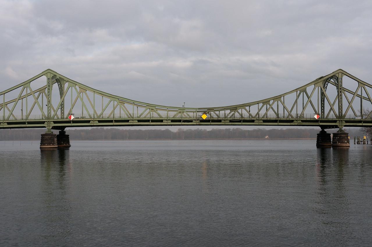 Glienicke Bridge in Postdam, Germany
