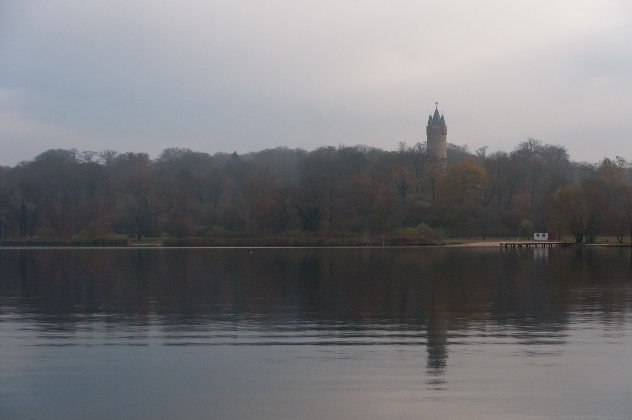 Calm Lake Schwielowsee in Potsdam, Germany