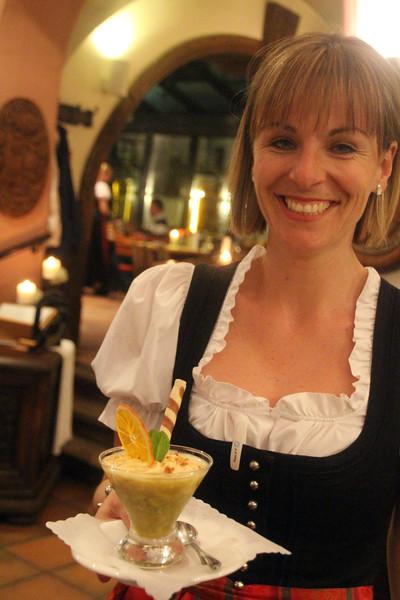 Rüdesheim Germany, Rüdesheimer Schloss Restaurant,  Dessert