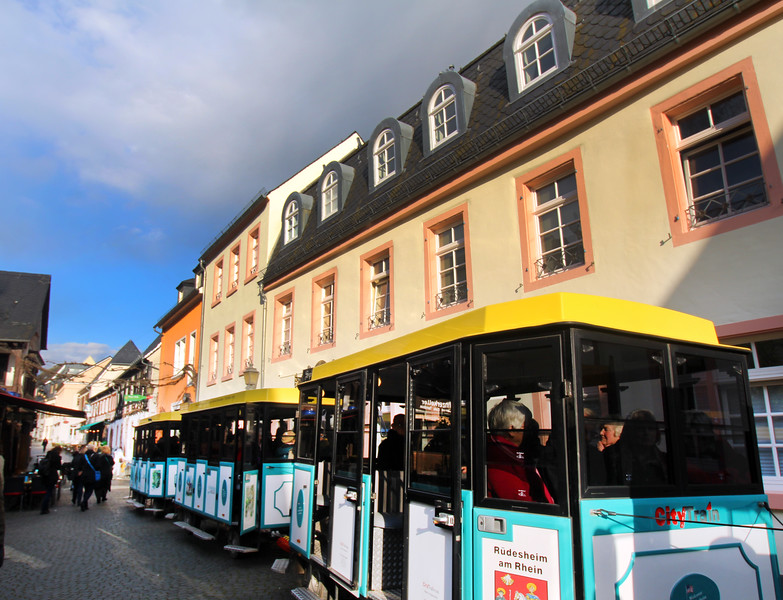 Rüdesheim Germany, City Train