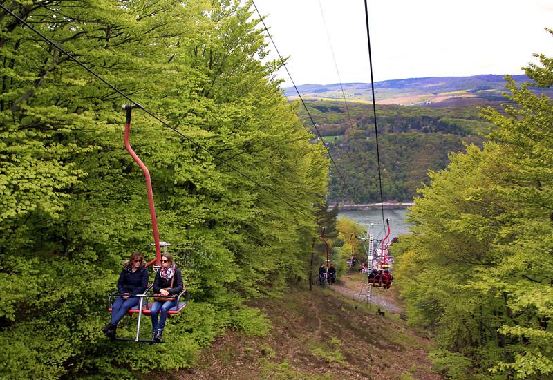 Rüdesheim Germany,  Assmannshausen Cable Car Ride