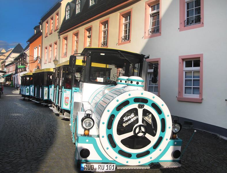 Rüdesheim Germany, City Train