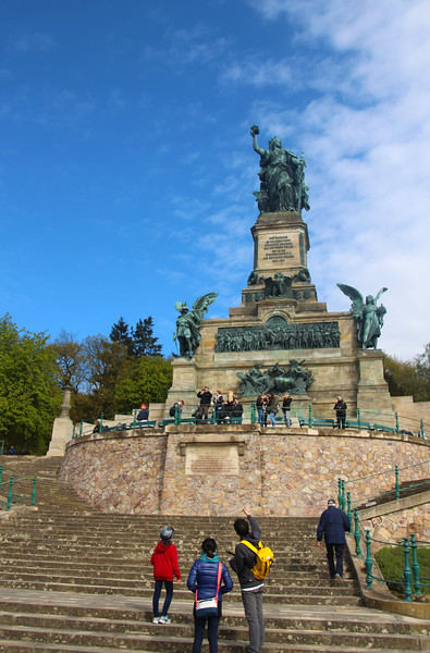 Rüdesheim Germany, Niederwald Monument