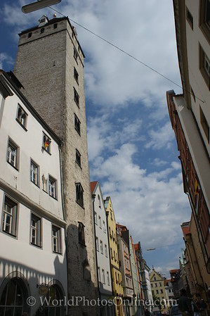 Regensburg - Golden Tower