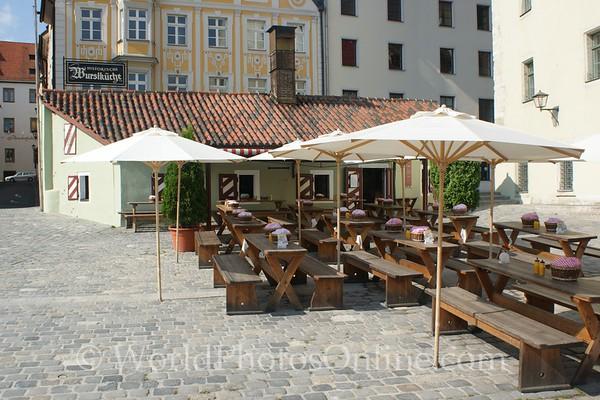 Regensburg - Wurstkuchl (oldest Brat Tavern in world)