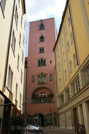 Regensburg - Red Tower