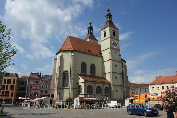 Regensburg - New Parish Church 2