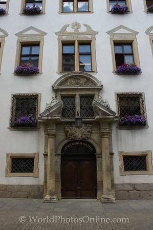 Regensburg - New Town Hall - Door