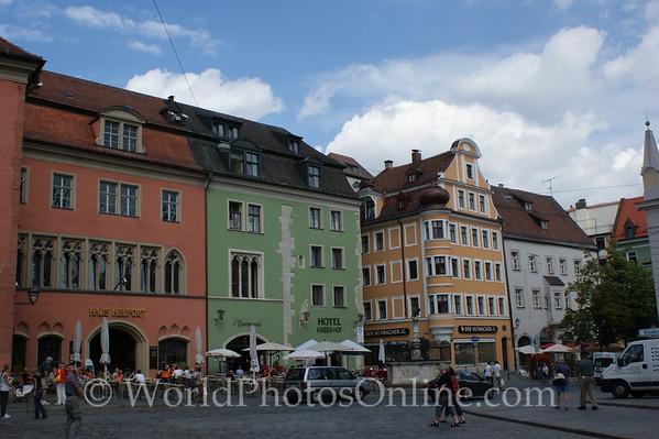 Regensburg - Cathedral Square