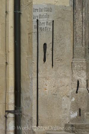 Regensburg - Old Town Hall - Merchant Measure details