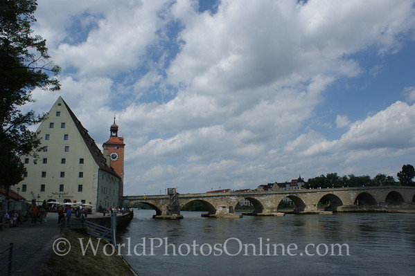 Regensburg - Stone Bridge & Salt Warehouse