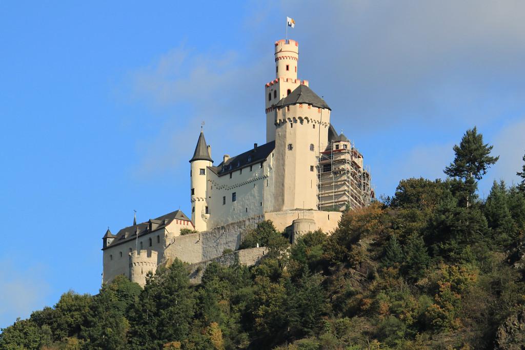 Hilltop Castle - Rhine River Gorge, Germany