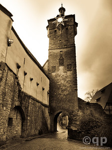 CITY GATE- ROTHENBURG OB DER TAUBER