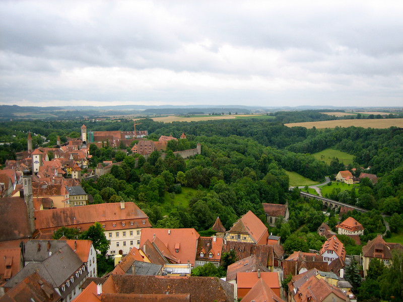 view from townhall tower