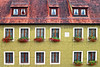 Rothenburg, Rothenburg ob der Tauber, Germany, Ansbach, Bavaria, Bayern, Ansbach District, Franconia, Mittlefranken, Windows