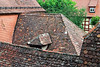 Rothenburg, Rothenburg ob der Tauber, Germany, Ansbach, Bavaria, Bayern, Ansbach District, Franconia, Mittlefranken, Roofs
